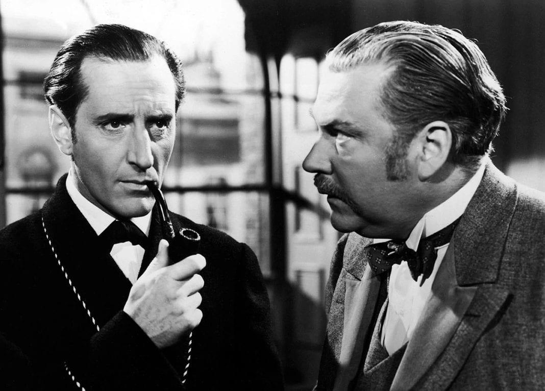 Sherlock Holmes contra Moriarty (1939)