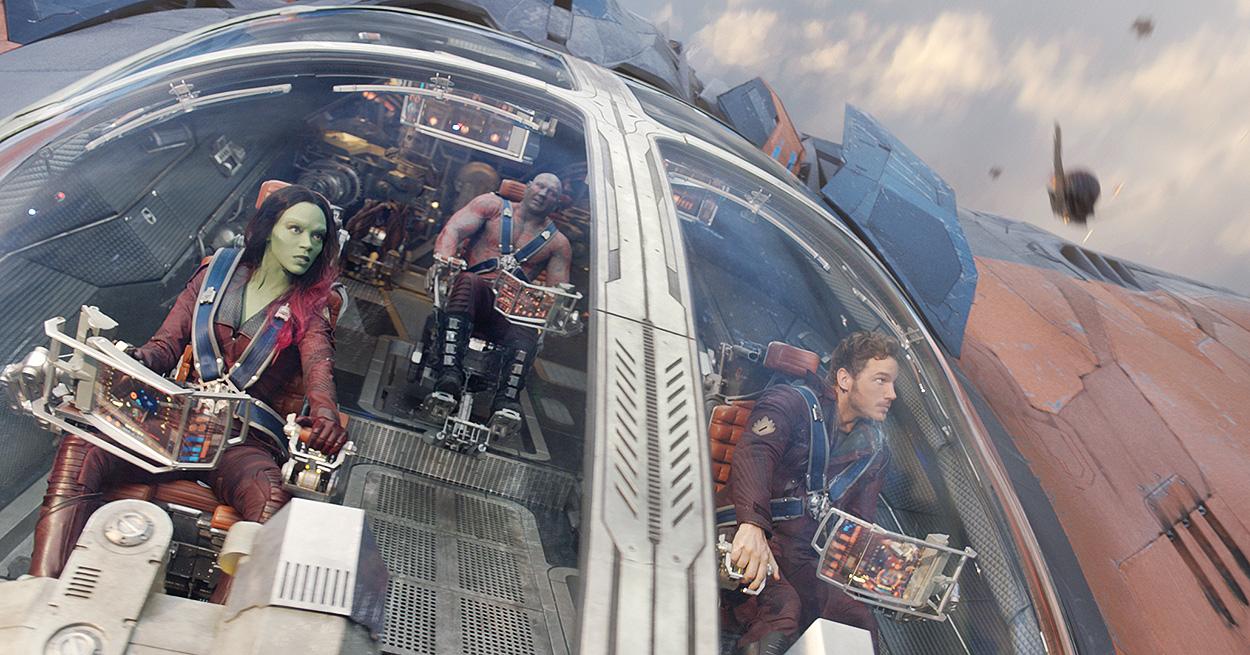 Guardianes de la Galaxia, de James Gunn