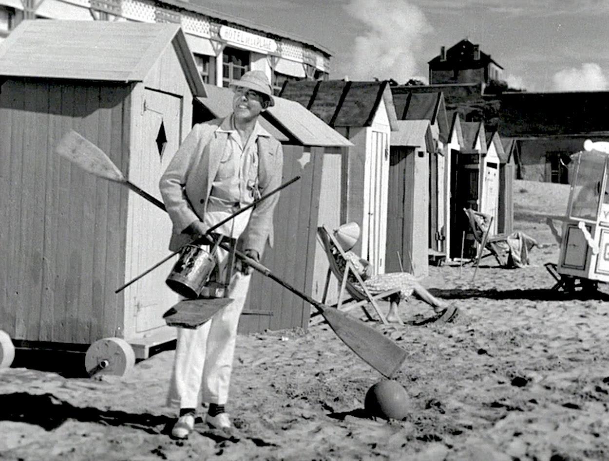 Las vacaciones del señor Hulot, de Jacques Tati