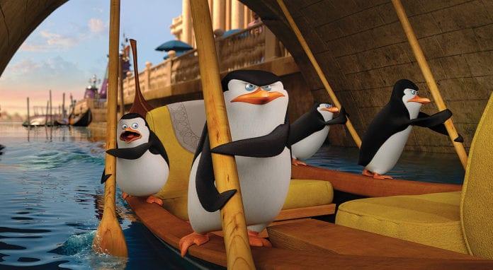Los pingüinos Madagascar