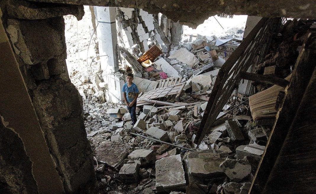 Nacido en Gaza (2014)