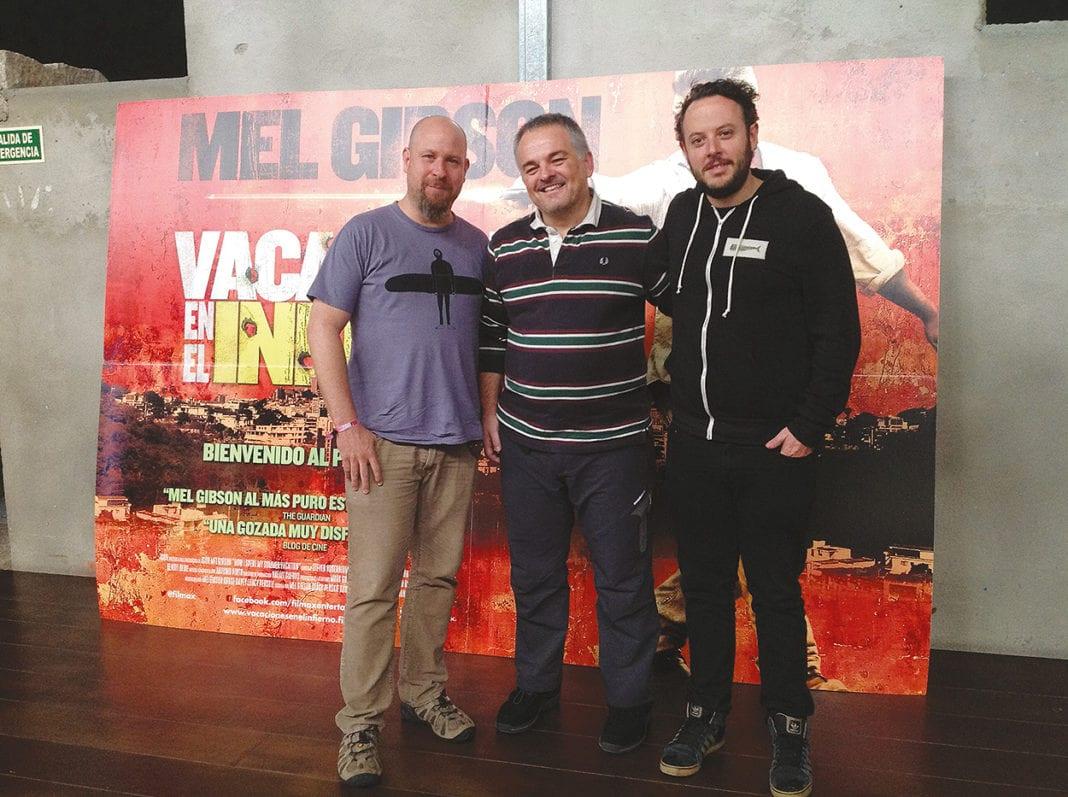 Grunberg y Perskie, director y productor Vacaciones en el infierno