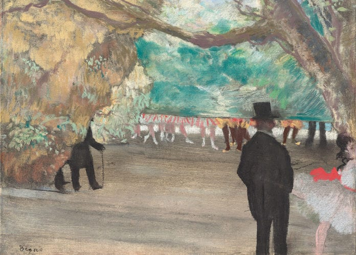 Edgar Degas: Impresionistas en privado