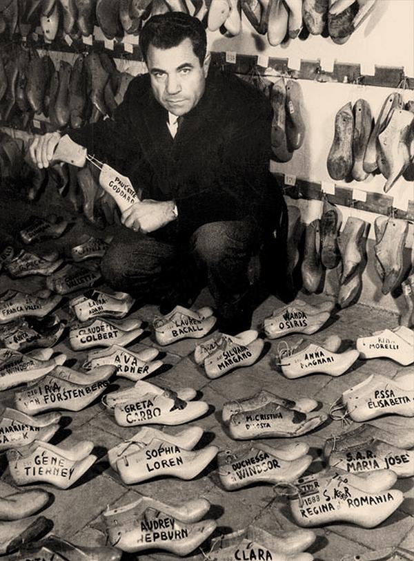 Salvatore Ferragamo, a los pies de las estrellas