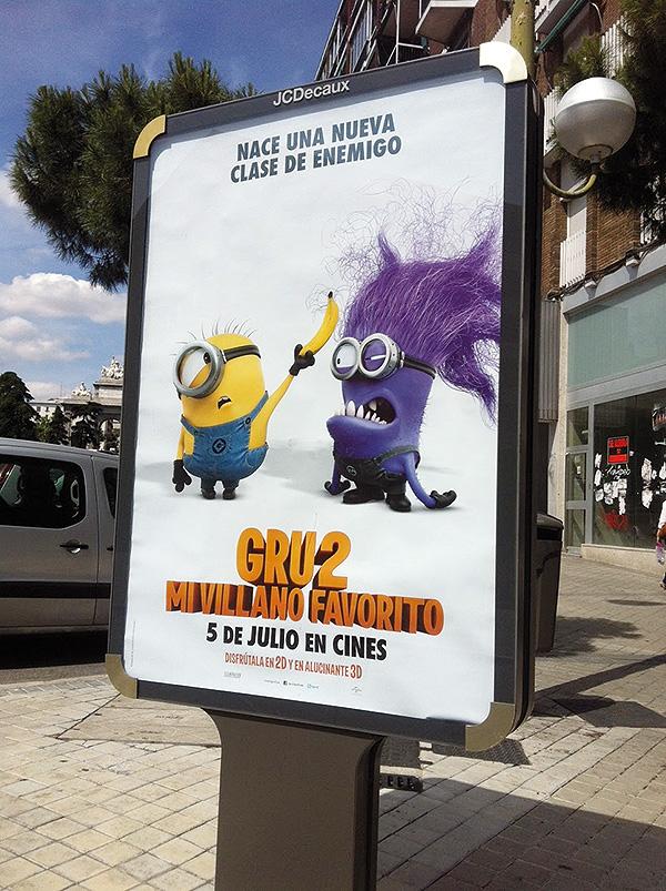 Vender cine. El duelo del verano de 2013: Minions contra Monstruos