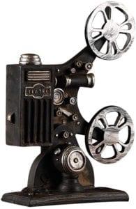 Proyector de cine Vintage escritorio