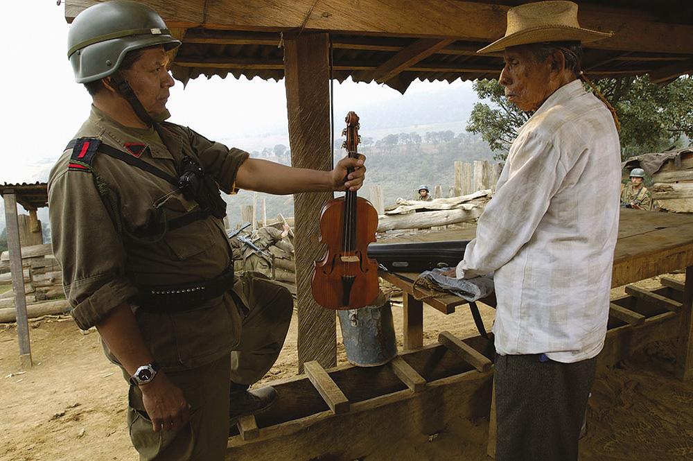 El violín (2005), ganadora del Festival de Cine Iberoamericano de Huelva 2006