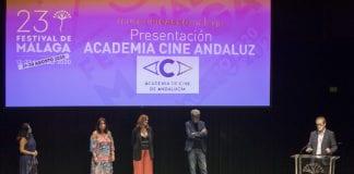 Presentación Academia del Cine de Andalucía. Eloy Muñoz Reyes