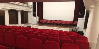 Teatro capturado por la cámara