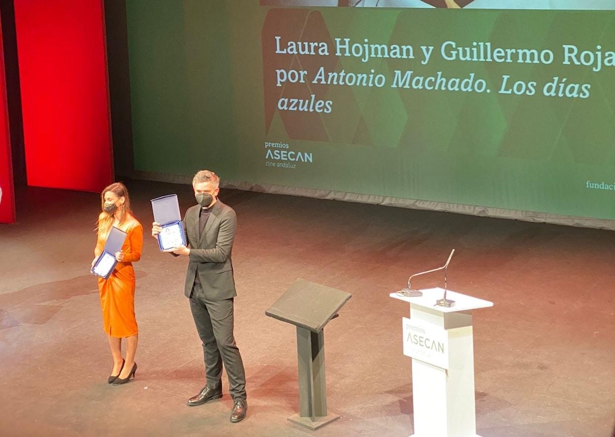 33º Premios del Cine Andaluz: Laura Hojman y Guillermo Rojas, premio Montaje por Antonio Machado. Los días azules