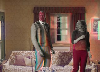Bruja Escarlata y Visión (2021)