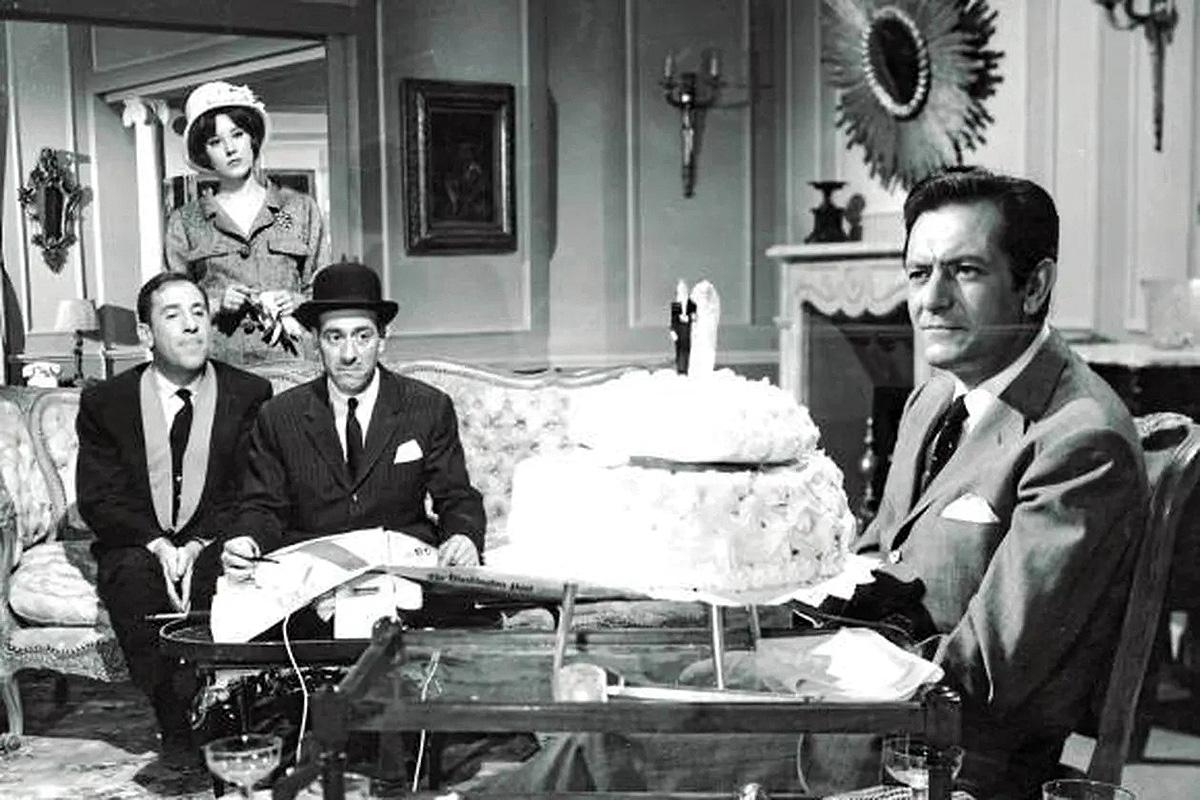 Alberto Closas en La gran familia (1962)