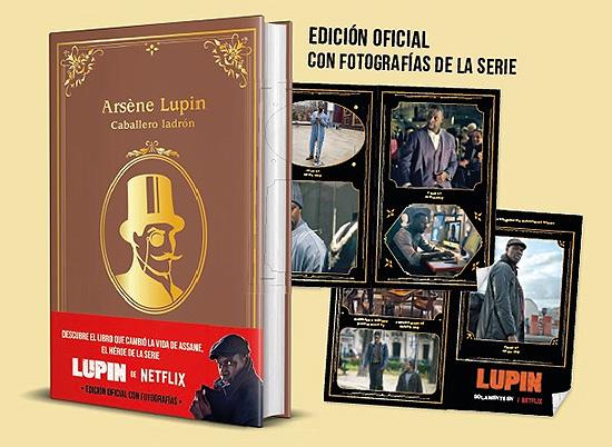 Edición especial Arsène Lupin en homenaje a la serie de Netflix