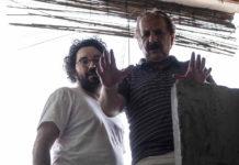Majid Majidi durante el rodaje de Hijos del Sol (2020)