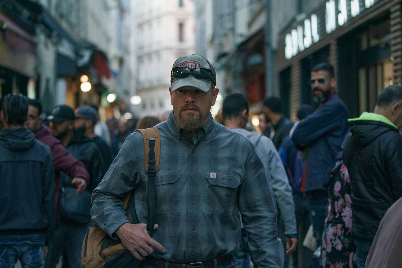 Matt Damon como Bill, en Cuestión de sangre (2021), de   Tom McCarthy (Credit Jessica Forde / Focus Features)